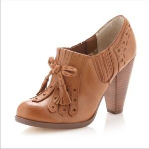 Seychelles Whiskey Clue Oxford Ankle Bootie Anthro